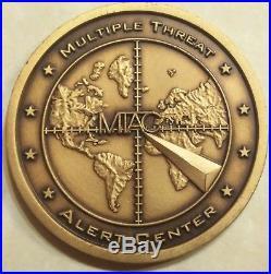 Multiple Threat Alert Center NCIS Navy Challenge Coin