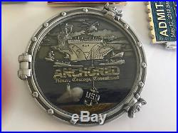 NAVY CPO / USN / CHIEF / LOT / Challenge Coins