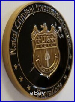 NCIS Naval Criminal Investigative Service Operations Intelligence DOD USN Coin