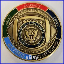 NUCLEAR FOOTBALL VPOTUS Vice President Military Aides USA USMC USN USCG USAF