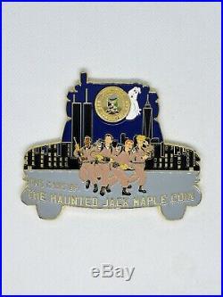 NYPD Challenge Coin Jack Maple GHOSTBUSTERS navy cpo chief espo msg SUPER RARE