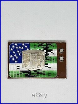 NYPD Challenge Coin Maple MARIO BROS non navy cpo chief Jack espo msg RARE