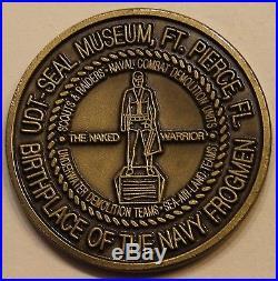 Naked Warrior UDT-SEAL Museum Ft Pierce, FL Navy Challenge Coin