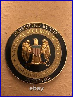 National Security Agency USMC USAF Army USN CSS NSA Director's Challenge Coin