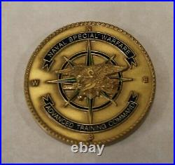 Naval Special Warfare Advanced Training Command Navy SEAL Challenge Coin