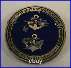Naval Special Warfare Basic Training Command Navy Challenge Coin / SEAL / SWCC