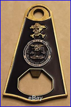 Naval Special Warfare Basic Training Command SEAL SWCC Navy Chief Challenge Coin