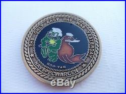 Naval Special Warfare Center SEAL BUDS Class #308 Navy Challenge Coin
