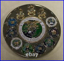 Naval Special Warfare Command John F. Kennedy SEALs Navy Challenge Coin