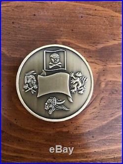 Naval Special Warfare Development Group Challenge Coin SEAL TEAM SIX