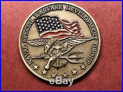 Naval Special Warfare Development Group DEVGRU SEAL Team 6 Navy Challenge Coin