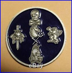 Naval Special Warfare Development Group DEVGRU SEAL Team 6 Navy Challenge Coin 2