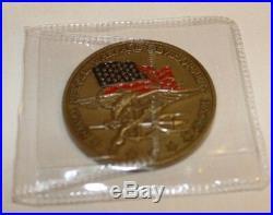 Naval Special Warfare Development Group DEVGRU SEAL Team Navy Challenge Coin 2