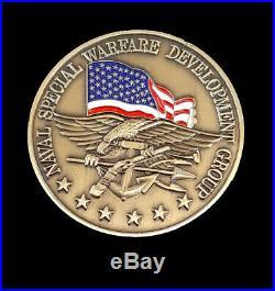 Naval Special Warfare Development Group NSW DEVGRU SEAL Team 6 Challenge Coin