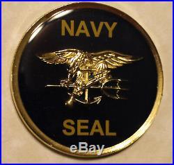 Naval Special Warfare Freddie and Sammie UDT / SEAL Team Navy Challenge Coin