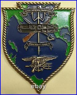 Naval Special Warfare Gp 3 Logistics LOGSU-3 SDVT-1 Navy Challenge Coin