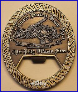 Naval Special Warfare Group 3 Chief's Mess Navy Challenge Coin