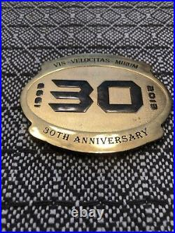 Naval Special Warfare SEAL Team 3 30th Anniversary Navy Challenge Coin RARE