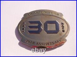 Naval Special Warfare SEAL Team 3 30th Anniversary Navy Challenge Coin Three