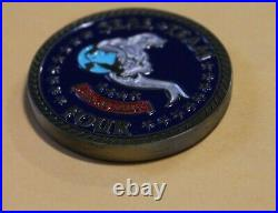 Naval Special Warfare SEAL Team 4 Navy Challenge Coin / Four