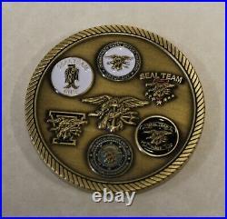 Naval Special Warfare SEAL Team Seventeen / 17 / XVII Navy Challenge Coin