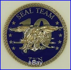 Naval Special Warfare SEAL Team Ten / 10 Troops Navy Challenge Coin Circa2018