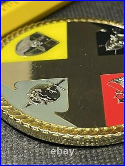 Naval Special Warfare SEAL Team Ten / 10 Troops Serialized Navy Challenge Coin