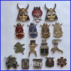 Navy CPO Challenge Coin Bundle Asian