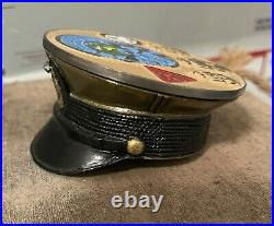Navy CPO Challenge Coin USS MAKIN ISLAND SENIOR CHIEF COVERHAND PAINTED 1 of 1