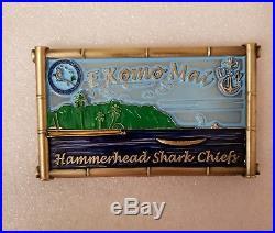 Navy CPO Chief Challenge Coin GREEN Hawaii HAMMERHEAD SHARK door RARE nypd msg