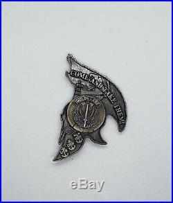 Navy CPO Chief Challenge coin SEAL Spartan SOCCENT MOLON LABE no nypd msg RARE