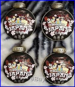 Navy Chief CPO Challenge Coin (Daruma Lucky Charm Set)