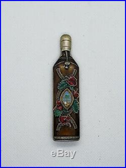 Navy Chief CPO Challenge Coin GUAM CHAMORRITA Bottle non nypd msg Only50 MADE