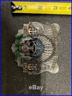 Navy Chief CPO Challenge Coin PACNORWEST Bear FRC RARE