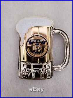 Navy Chief CPO Challenge Coin PACNORWEST CPO Club MUG non nypd msg LIMITED