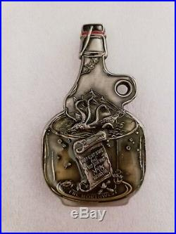 Navy Chief CPO Challenge Coin PACNORWEST FRC Growler BOTTLE no nypd msg RARE