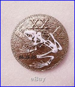 Navy Chief CPO Challenge Coin SHINY DDG USS Michael Murphy no nypd msg SEAL