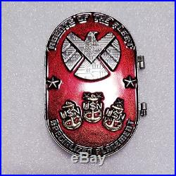 Navy Chief CPO challenge coin hatch door OPENS non nypd msg HANDLE SPINS