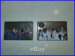 Navy Chief Coin Guardians of the Pacific 2 White and Blue 2 coin set