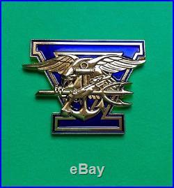 Navy Chief Coin. Navy SEALs Team coins. Genuine