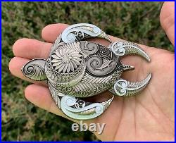Navy Chief Mess Pearl City Peninsula Hawaii Turtle Spartan CPO Challenge Coin
