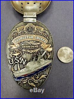 Navy Chief USS Princeton Jason Coin Class 126