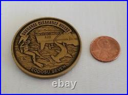Navy EOD Operational Support Unit 7 Ordnance Clearance Divers Challenge Coin