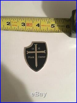Navy SEAL DEVGRU Silver Squadron challenge coin SEAL Team 6