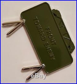 Navy SEAL Team 3 NSWG 3 LOGSU 3/SDVT 1 EOD Explosive Ord Claymore Mine Coin