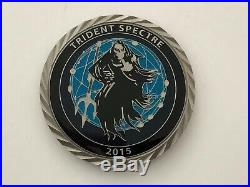 Navy SEALs Trident Spectre 2015 SPOOK CIA NSA USIC Logos 3D Webbed TRIDENT