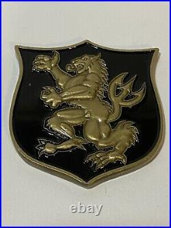 Navy Seal Team 6 DEVGRU NSW Gold Squadron Challenge Coin