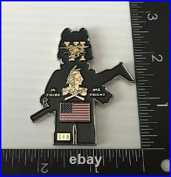 Navy Seal Team 6 Demon Hunters Tribe Nsw Figure Challenge Coin Cpo Non Nypd Lego