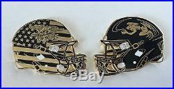 Navy Seals Seal Frogman Frog Ucla Bruins Football Helmet Challenge Coin Cpo Nsw