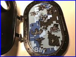 Navy Seals Seal Team frog Challenge Coin agents of the fleet shield door rare